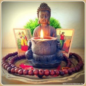 Buddah mit Sibillakarten