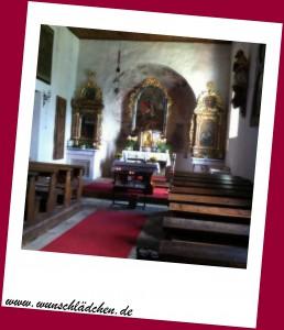 Innen Kirchen Danielsberg